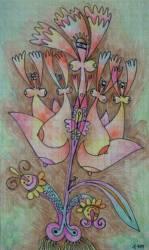 A vadász lánya színesceruza