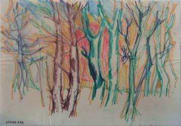Erdőrészlet 2