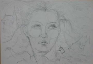 Női illusztráció
