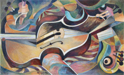 Kék hegedűs 2