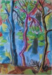Vízparti fák