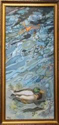 Balatoni varázs vadkacsával (120x45