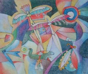 Tündérek rajzása(80x50)