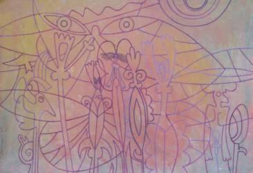 Pávaszemes jelek (45x65)