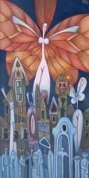 Angyal a város fölött (50x26)
