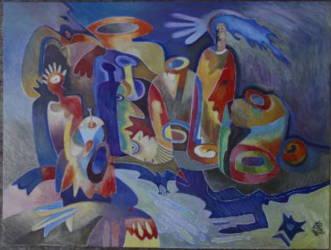 Üvegszerelem (50x70)
