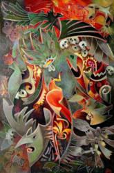 Tűzkirály (káosz) (90x135)