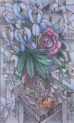 Virág grafika 5