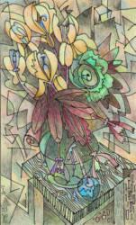 Virág grafika 6